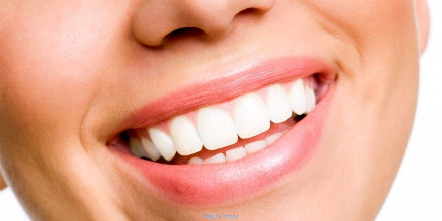 Beauty: To have very white teeth