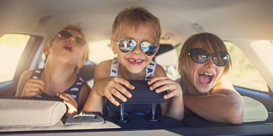 5 tips to prepare a long drive with children