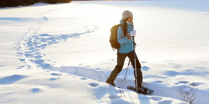 Snowshoeing: Contraindications to snowshoes