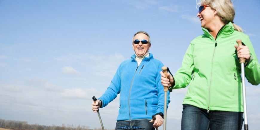 Nordic walking: l'attrezzatura necessaria