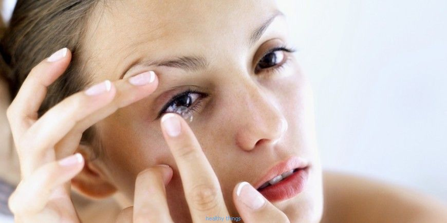 Contact lenses: Lens care