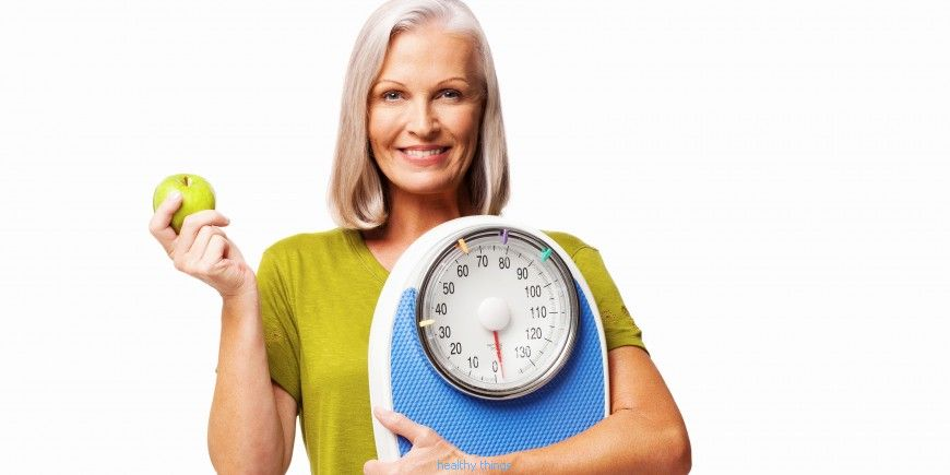 Menopause: how not to get fat after 50 years?