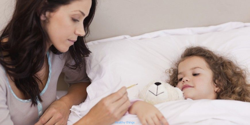 My child has the flu: what do I do?