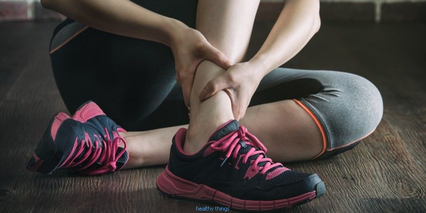 Sprain: symptoms - Diseases