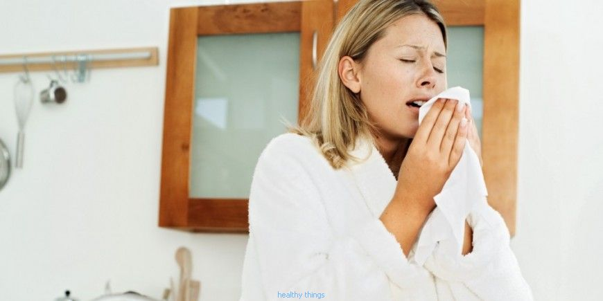 Pollen allergy: symptoms - Diseases