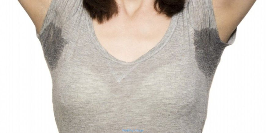 Excessive underarm sweating